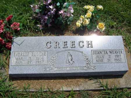 CREECH, JUANITA - Benton County, Arkansas | JUANITA CREECH - Arkansas Gravestone Photos