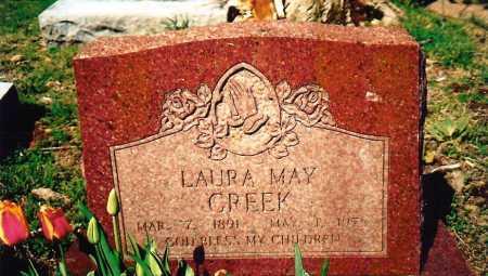 CREEK, LAURA MAY - Benton County, Arkansas | LAURA MAY CREEK - Arkansas Gravestone Photos