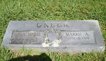 CREEK, NEVA MARIE - Benton County, Arkansas   NEVA MARIE CREEK - Arkansas Gravestone Photos