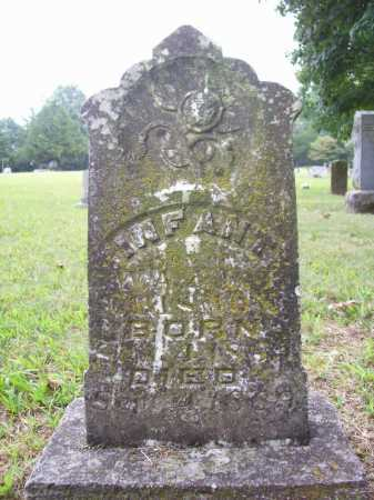 CRISMON, INFANT SON - Benton County, Arkansas | INFANT SON CRISMON - Arkansas Gravestone Photos
