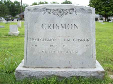CRISMON, LEAH - Benton County, Arkansas | LEAH CRISMON - Arkansas Gravestone Photos
