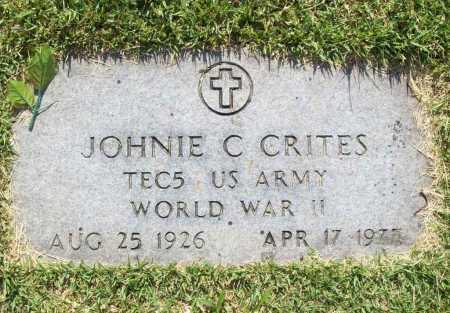 CRITES (VETERAN WWII), JOHNIE CLIFFORD - Benton County, Arkansas   JOHNIE CLIFFORD CRITES (VETERAN WWII) - Arkansas Gravestone Photos