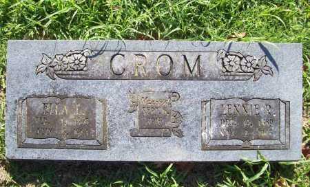 CROM, LENNIE R. - Benton County, Arkansas | LENNIE R. CROM - Arkansas Gravestone Photos