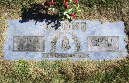 CRONE, VEDA G. - Benton County, Arkansas   VEDA G. CRONE - Arkansas Gravestone Photos