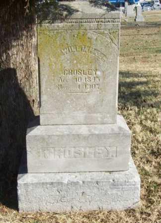 CROSLEY (VETERAN UNION), WILLIAM J - Benton County, Arkansas | WILLIAM J CROSLEY (VETERAN UNION) - Arkansas Gravestone Photos