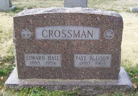 ROLISON CROSSMAN, FAYE - Benton County, Arkansas | FAYE ROLISON CROSSMAN - Arkansas Gravestone Photos