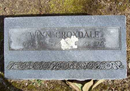 CROXDALE, WINN - Benton County, Arkansas | WINN CROXDALE - Arkansas Gravestone Photos