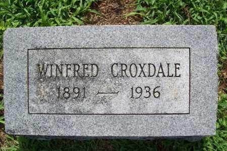 CROXDALE, WINFRED - Benton County, Arkansas   WINFRED CROXDALE - Arkansas Gravestone Photos