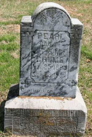 CRUME, PEARL - Benton County, Arkansas | PEARL CRUME - Arkansas Gravestone Photos