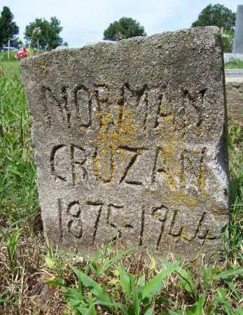 CRUZAN, NORMAN - Benton County, Arkansas   NORMAN CRUZAN - Arkansas Gravestone Photos