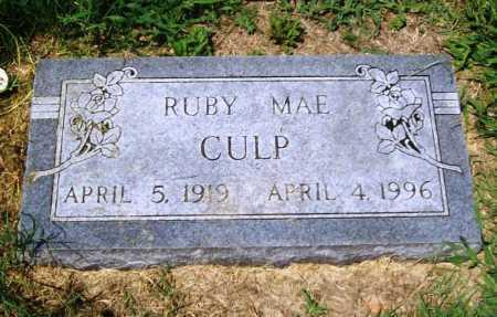 CULP, RUBY MAE - Benton County, Arkansas | RUBY MAE CULP - Arkansas Gravestone Photos