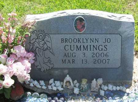 CUMMINGS, BROOKLYNN JO - Benton County, Arkansas | BROOKLYNN JO CUMMINGS - Arkansas Gravestone Photos