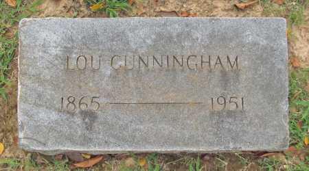 CUNNINGHAM, LOU - Benton County, Arkansas   LOU CUNNINGHAM - Arkansas Gravestone Photos