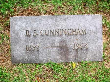 CUNNINGHAM, R. S. - Benton County, Arkansas | R. S. CUNNINGHAM - Arkansas Gravestone Photos