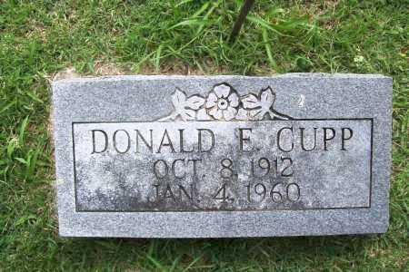 CUPP, DONALD E. - Benton County, Arkansas | DONALD E. CUPP - Arkansas Gravestone Photos