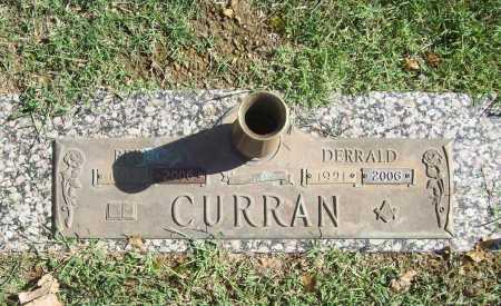 CURRAN, DERRALD - Benton County, Arkansas | DERRALD CURRAN - Arkansas Gravestone Photos