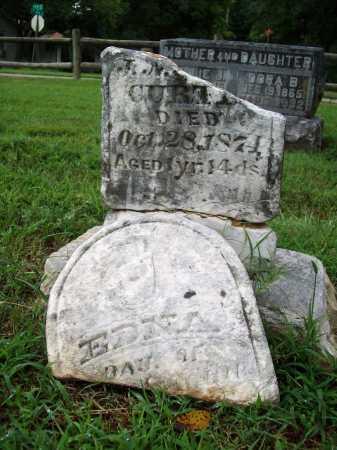 CURTIS, EDNA - Benton County, Arkansas | EDNA CURTIS - Arkansas Gravestone Photos