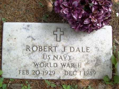 DALE (VETERAN WWII), ROBERT J. - Benton County, Arkansas | ROBERT J. DALE (VETERAN WWII) - Arkansas Gravestone Photos