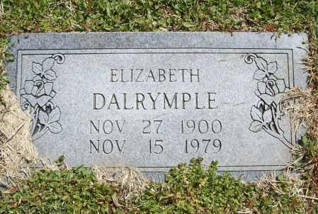 SMITH DALRYMPLE, ELIZABETH - Benton County, Arkansas | ELIZABETH SMITH DALRYMPLE - Arkansas Gravestone Photos