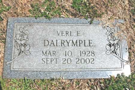 DALRYMPLE, VERL E. - Benton County, Arkansas | VERL E. DALRYMPLE - Arkansas Gravestone Photos