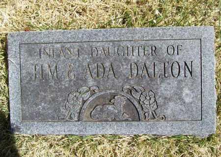 DALTON, INFANT DAUGHTER - Benton County, Arkansas | INFANT DAUGHTER DALTON - Arkansas Gravestone Photos