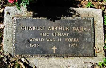 DANA (VETERAN 2 WARS), CHARLES ARTHUR - Benton County, Arkansas   CHARLES ARTHUR DANA (VETERAN 2 WARS) - Arkansas Gravestone Photos