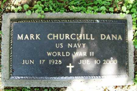 DANA (VETERAN WWII), MARK CHURCHILL - Benton County, Arkansas | MARK CHURCHILL DANA (VETERAN WWII) - Arkansas Gravestone Photos