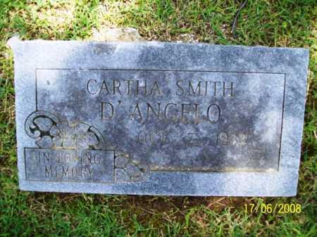 D'ANGELO, CARTHA - Benton County, Arkansas   CARTHA D'ANGELO - Arkansas Gravestone Photos