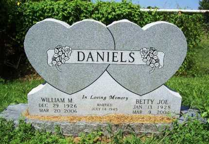 DANIELS, WILLIAM M. - Benton County, Arkansas | WILLIAM M. DANIELS - Arkansas Gravestone Photos