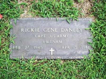 DANLEY (VETERAN VIET), RICKIE GENE - Benton County, Arkansas   RICKIE GENE DANLEY (VETERAN VIET) - Arkansas Gravestone Photos
