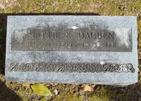 DAUBEN, HATTIE E. - Benton County, Arkansas | HATTIE E. DAUBEN - Arkansas Gravestone Photos