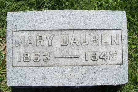 DAUBEN, MARY - Benton County, Arkansas | MARY DAUBEN - Arkansas Gravestone Photos