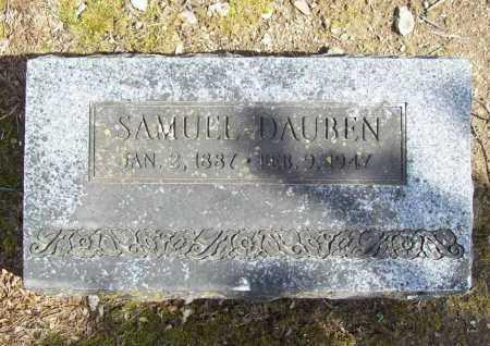 DAUBEN, SAMUEL - Benton County, Arkansas | SAMUEL DAUBEN - Arkansas Gravestone Photos