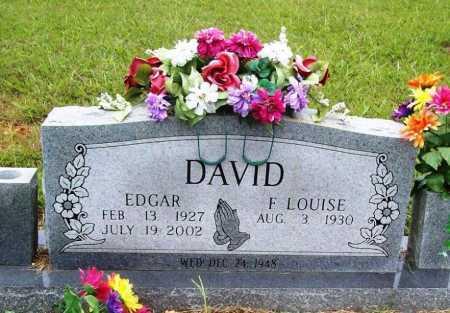 DAVID, EDGAR - Benton County, Arkansas | EDGAR DAVID - Arkansas Gravestone Photos