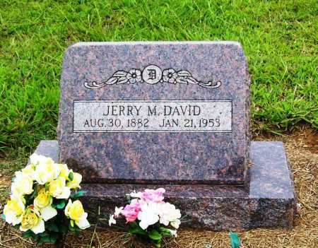 DAVID, JERRY M. (JEREMIAH) - Benton County, Arkansas   JERRY M. (JEREMIAH) DAVID - Arkansas Gravestone Photos