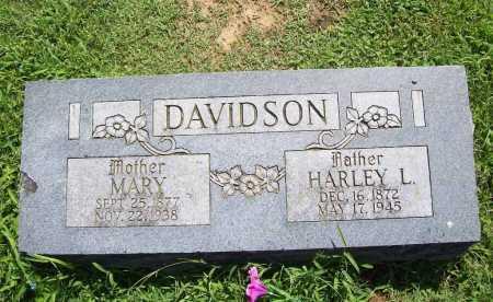 DAVIDSON, HARLEY L. - Benton County, Arkansas | HARLEY L. DAVIDSON - Arkansas Gravestone Photos