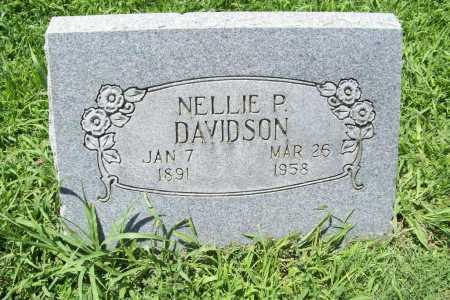 WILSON DAVIDSON, NELLIE PEARL - Benton County, Arkansas | NELLIE PEARL WILSON DAVIDSON - Arkansas Gravestone Photos