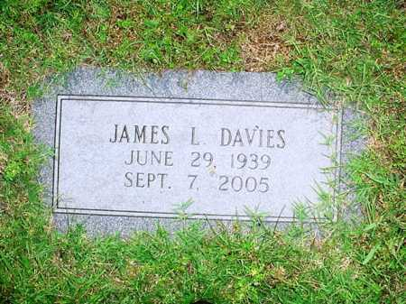 DAVIES, JAMES L. - Benton County, Arkansas | JAMES L. DAVIES - Arkansas Gravestone Photos