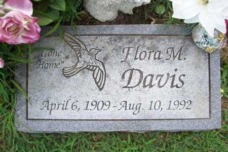 DAVIS, FLORA M. - Benton County, Arkansas | FLORA M. DAVIS - Arkansas Gravestone Photos