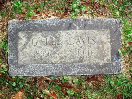 DAVIS, G. LEE - Benton County, Arkansas | G. LEE DAVIS - Arkansas Gravestone Photos