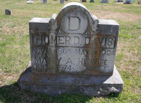 DAVIS, MARY A. - Benton County, Arkansas | MARY A. DAVIS - Arkansas Gravestone Photos