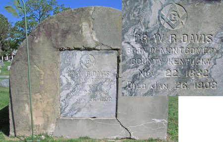 DAVIS, WILLIAM RUSSELL DR (CLOSEUP) - Benton County, Arkansas | WILLIAM RUSSELL DR (CLOSEUP) DAVIS - Arkansas Gravestone Photos