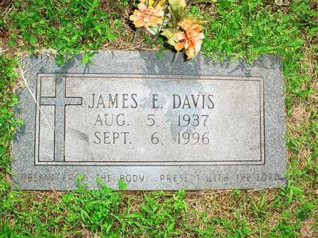 DAVIS, JAMES E. - Benton County, Arkansas   JAMES E. DAVIS - Arkansas Gravestone Photos