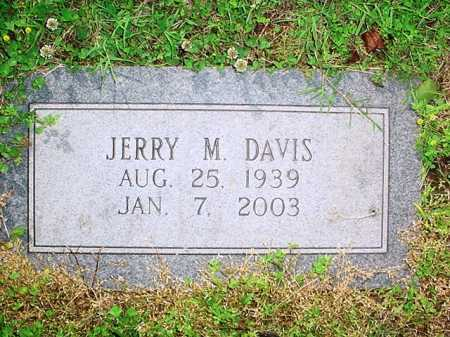 DAVIS, JERRY M. - Benton County, Arkansas | JERRY M. DAVIS - Arkansas Gravestone Photos