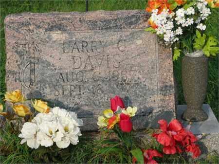 DAVIS, LARRY G. - Benton County, Arkansas | LARRY G. DAVIS - Arkansas Gravestone Photos