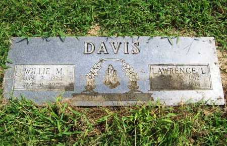 DAVIS, LAWRENCE LEO - Benton County, Arkansas | LAWRENCE LEO DAVIS - Arkansas Gravestone Photos