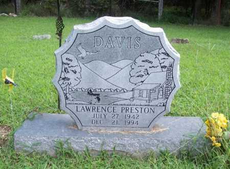 DAVIS, LAWRENCE PRESTON - Benton County, Arkansas   LAWRENCE PRESTON DAVIS - Arkansas Gravestone Photos