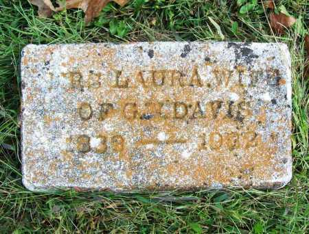 DAVIS, LAURA - Benton County, Arkansas | LAURA DAVIS - Arkansas Gravestone Photos