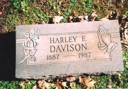 DAVISON, HARLEY E. - Benton County, Arkansas | HARLEY E. DAVISON - Arkansas Gravestone Photos