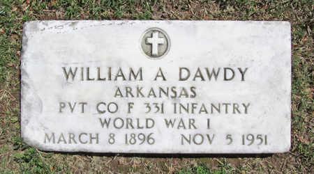 DAWDY (VETERAN WWI), WILLIAM A - Benton County, Arkansas | WILLIAM A DAWDY (VETERAN WWI) - Arkansas Gravestone Photos